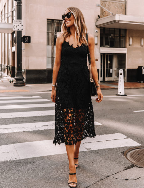 9 Black Lace Dresses Under $150