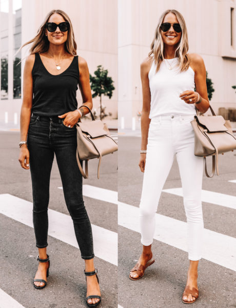 Two Simple, Monochromatic Everlane Outfits