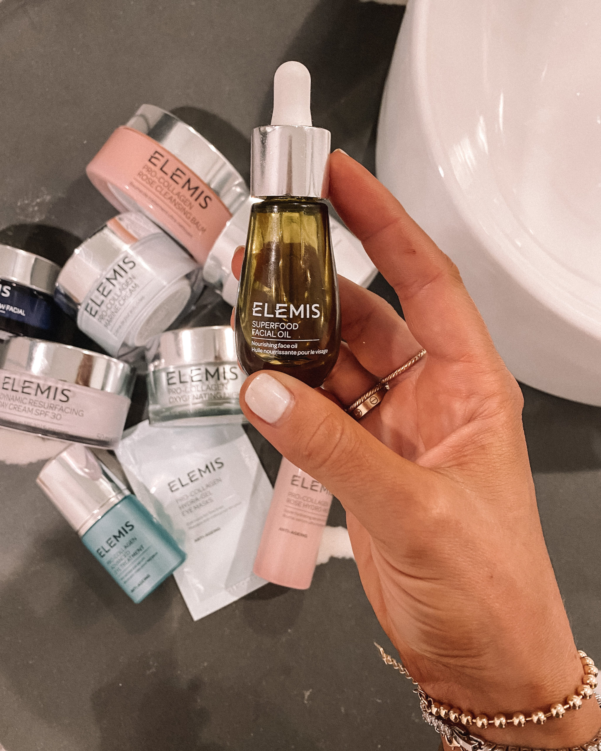 Fashion Jackson Elemis Superfood Facial Oil