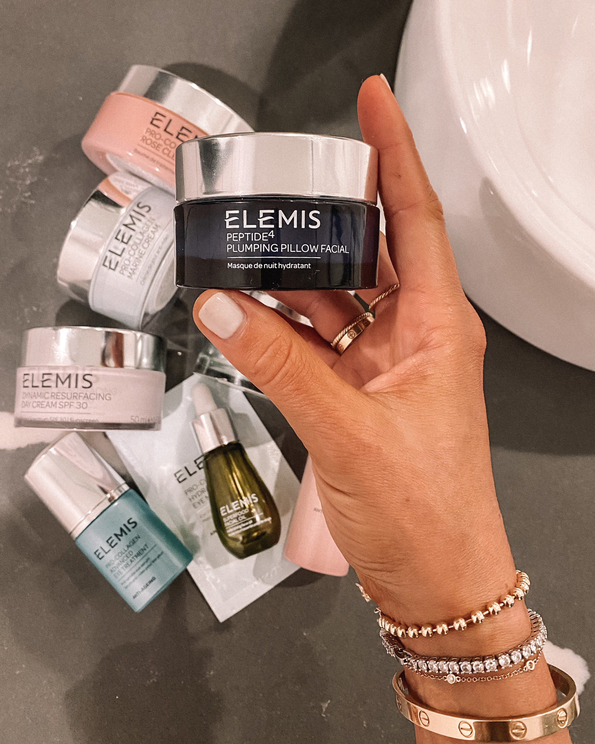 Fashion Jackson Elemis Peptide⁴ Plumping Pillow Facial