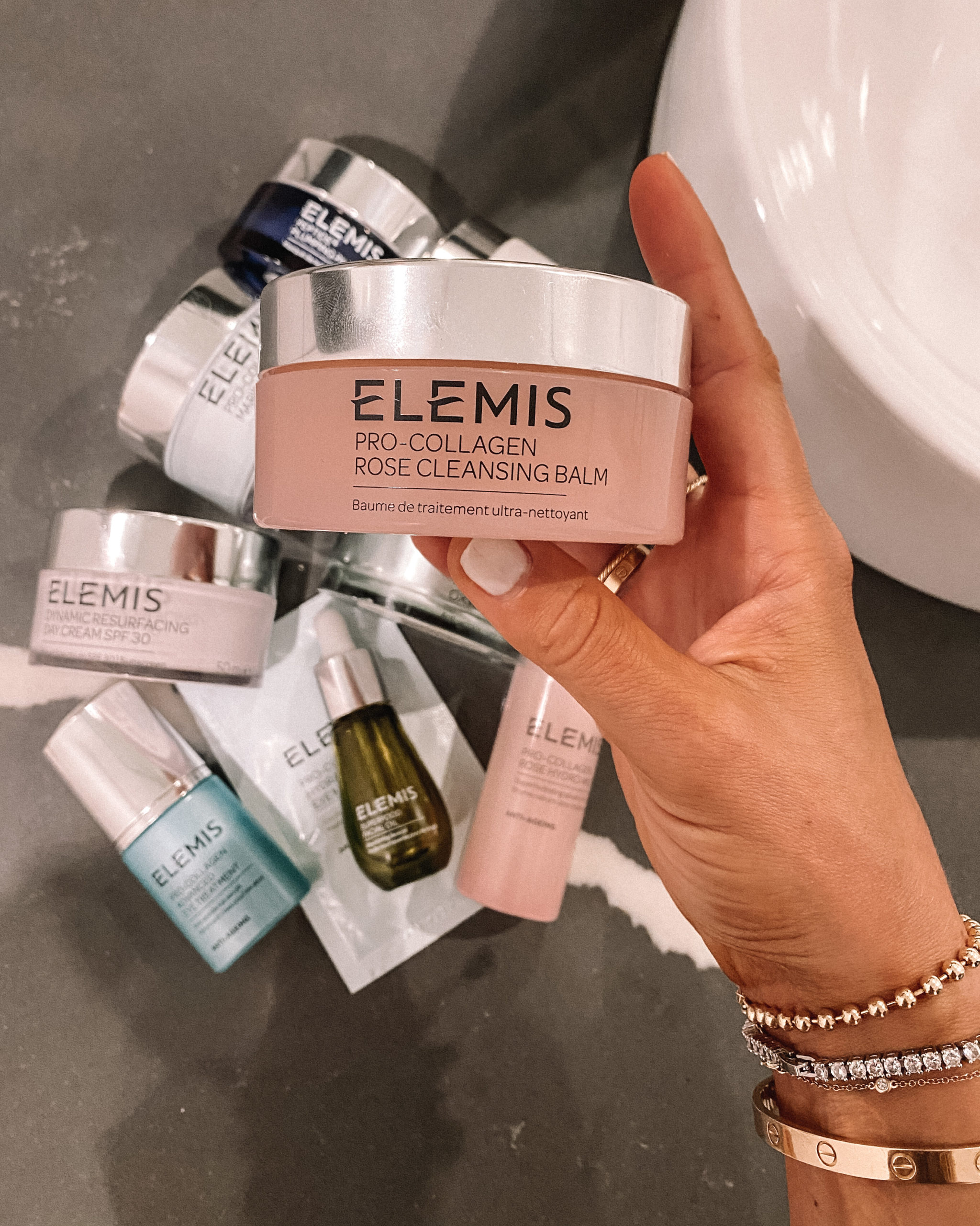 Fashion Jackson Elemis Pro-Collagen Rose Cleansing Balm