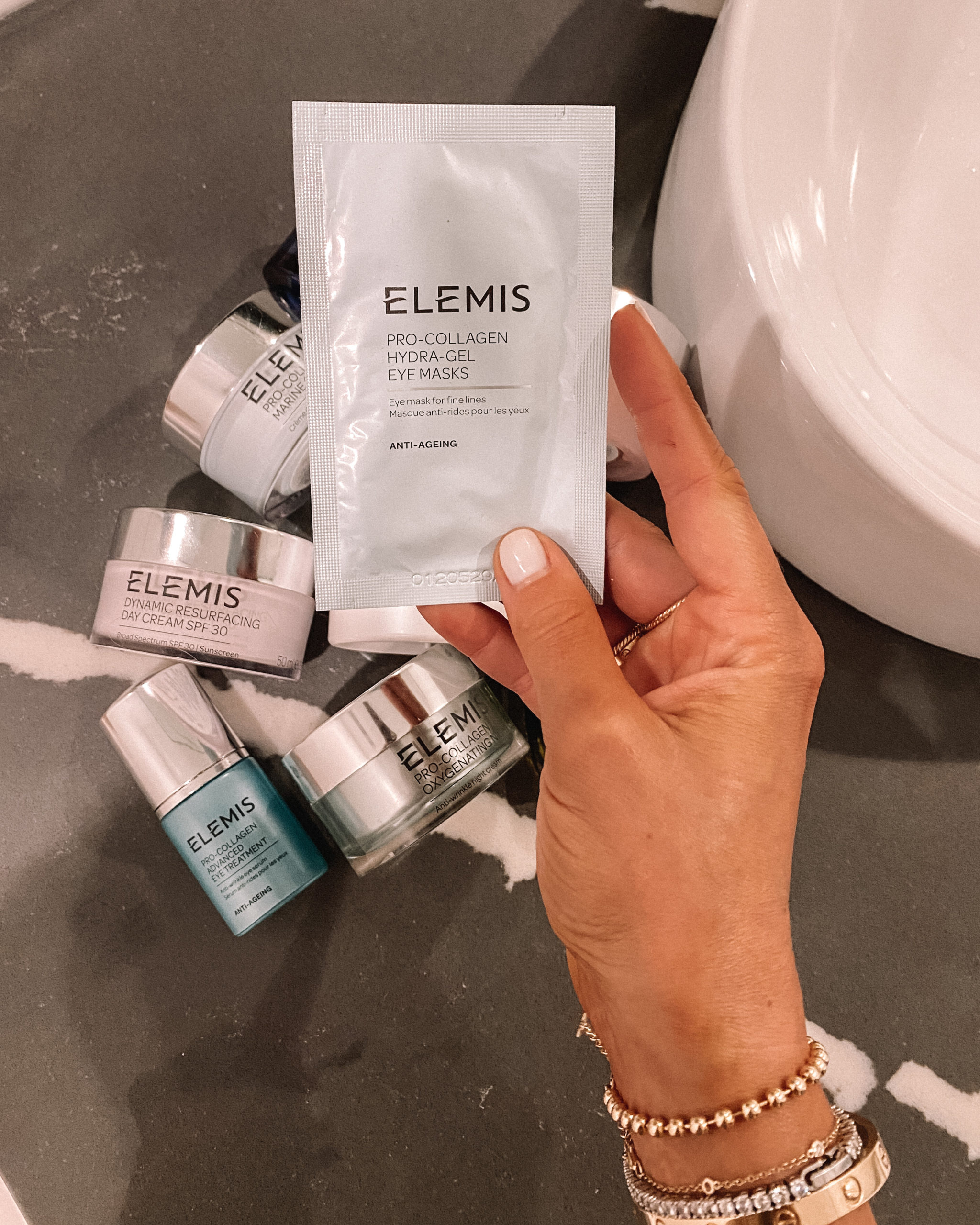 Fashion Jackson Elemis Pro-Collagen Hydra-Gel Eye Masks