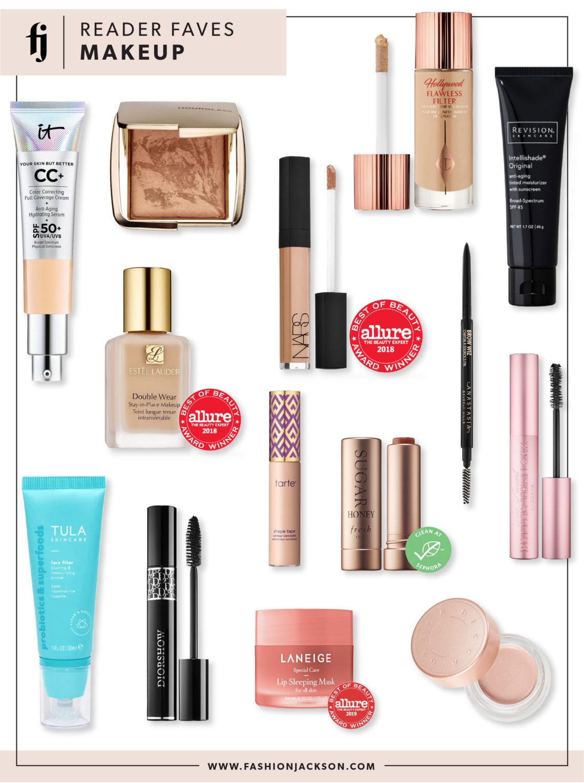 Fashion Jackson Reader Makeup Favorites