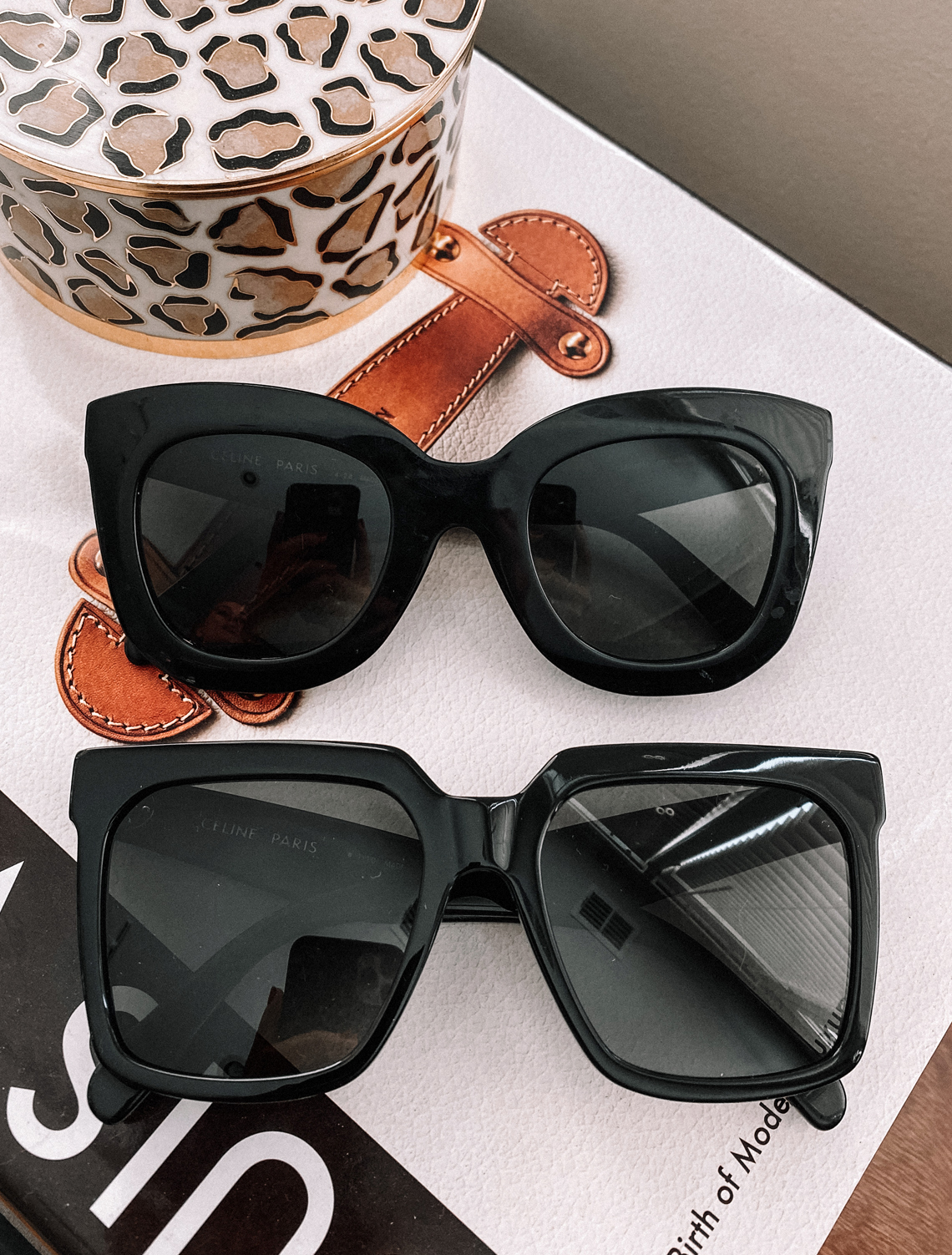 Fashion Jackson Black Celine Sunglasses