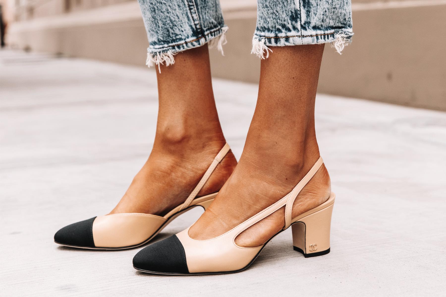 Fashion Jackson Chanel Slingbacks