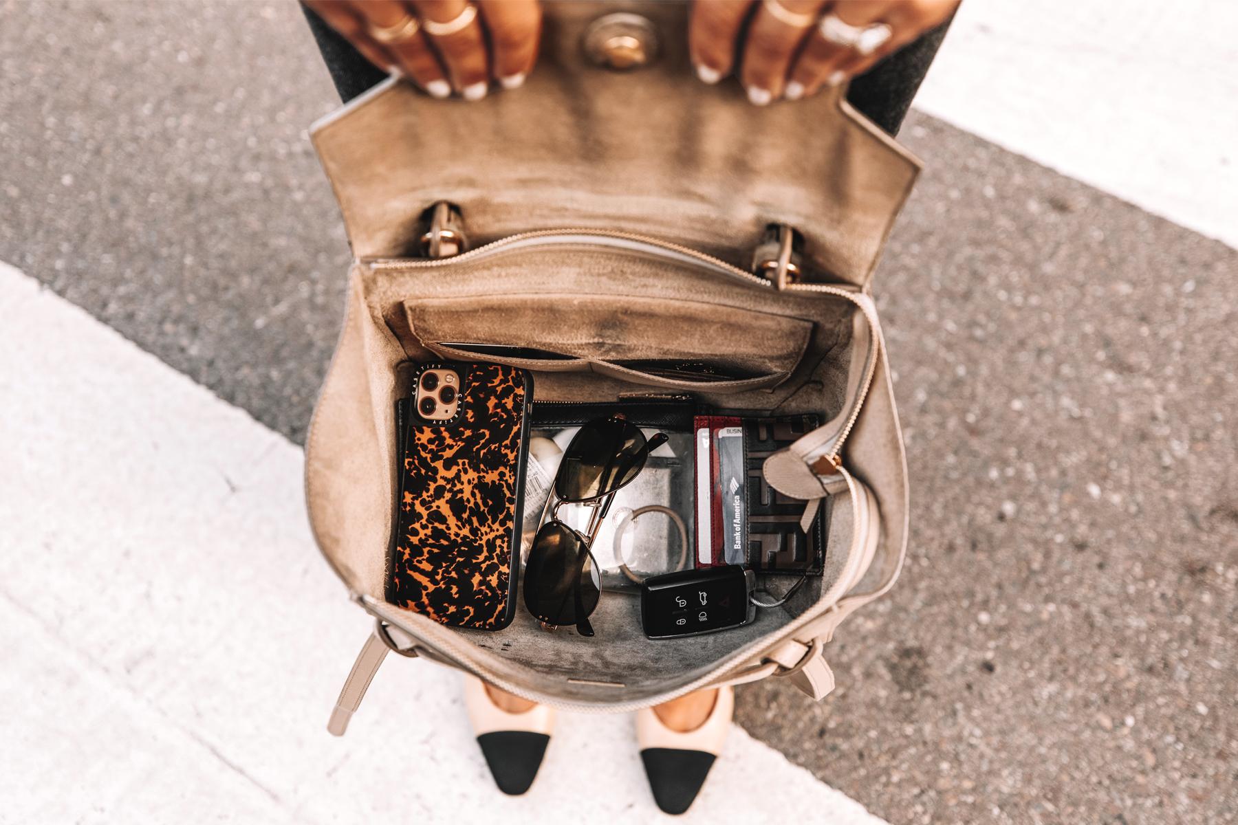 Fashion Jackson Interior of Celine Mini Belt Bag