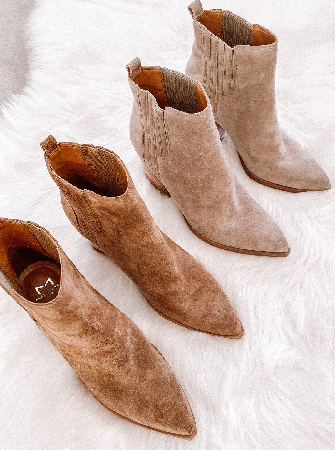 Fashion Jackson Marc Fisher Oshay Pointed Toe Booties