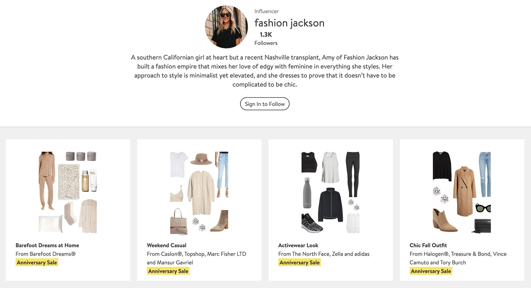 Fashion Jackson Nordstrom Anniversary Sale