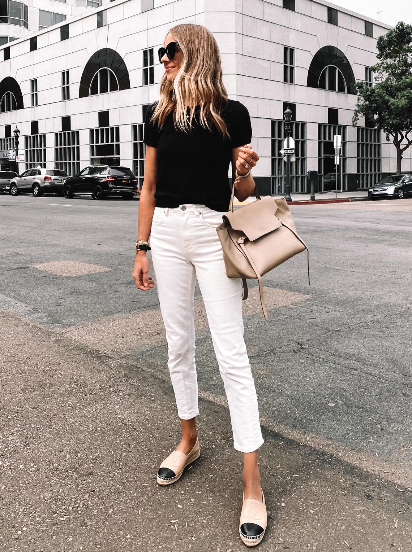 Simple Black \u0026 White Outfit | Fashion