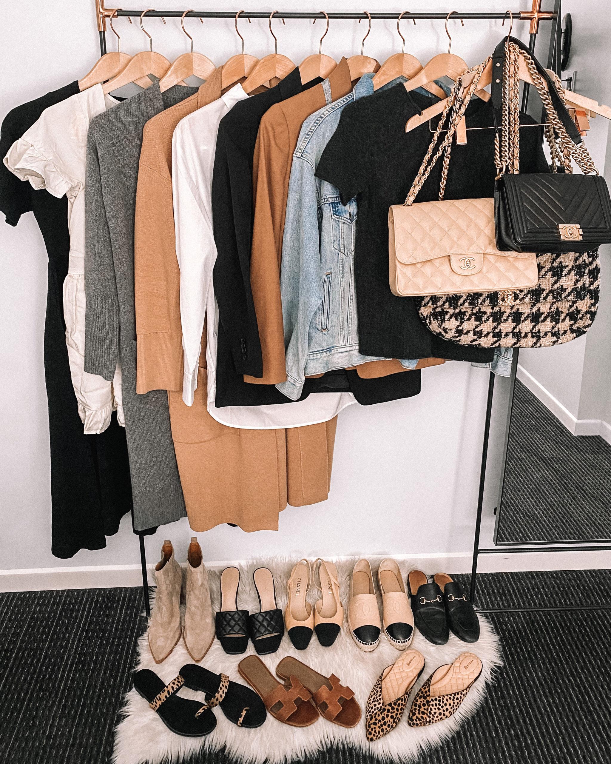 Fashion Jackson Mini Fall Capsule Wardrobe