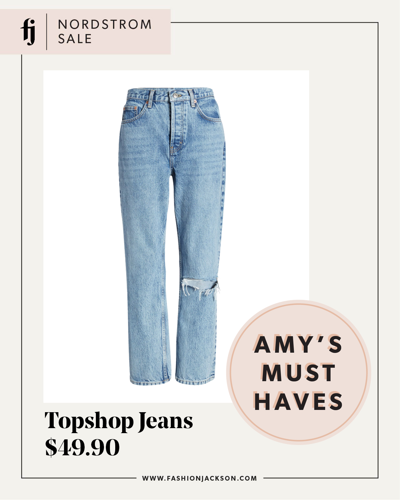fashion jackson nordstrom anniversary sale topshop jeans