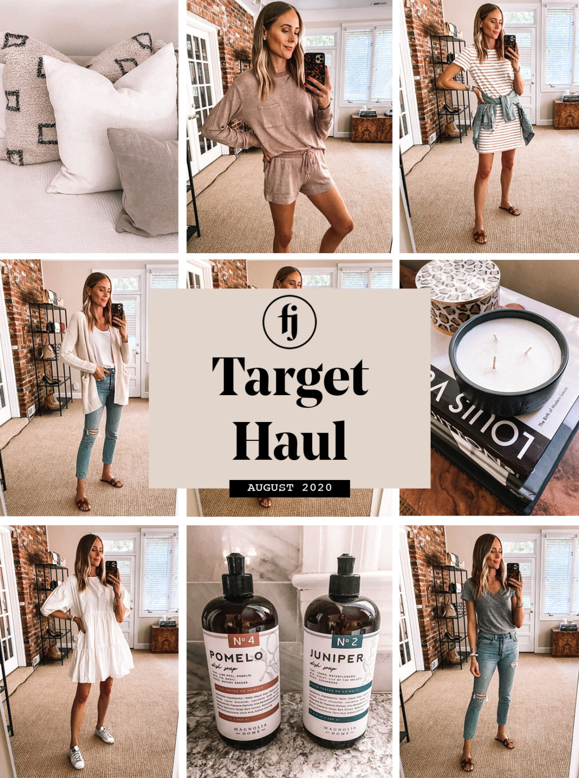Fashion Jackson target haul august