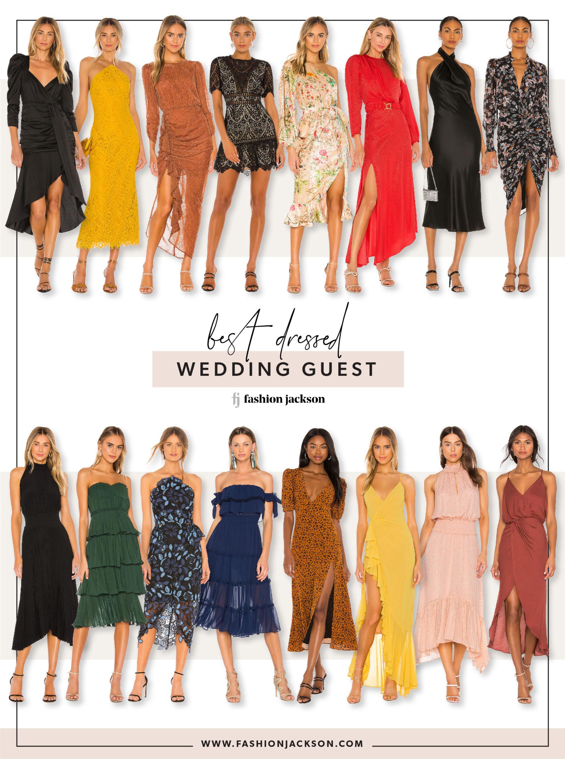 Fall Wedding Guest Dresses Fashion Jackson
