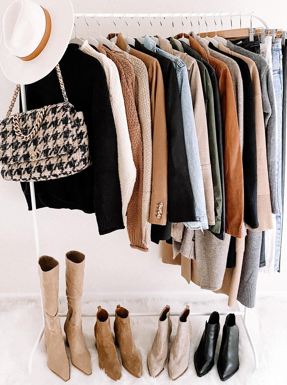 Fashion Jackson Fall Outfits Clothing Rack daily