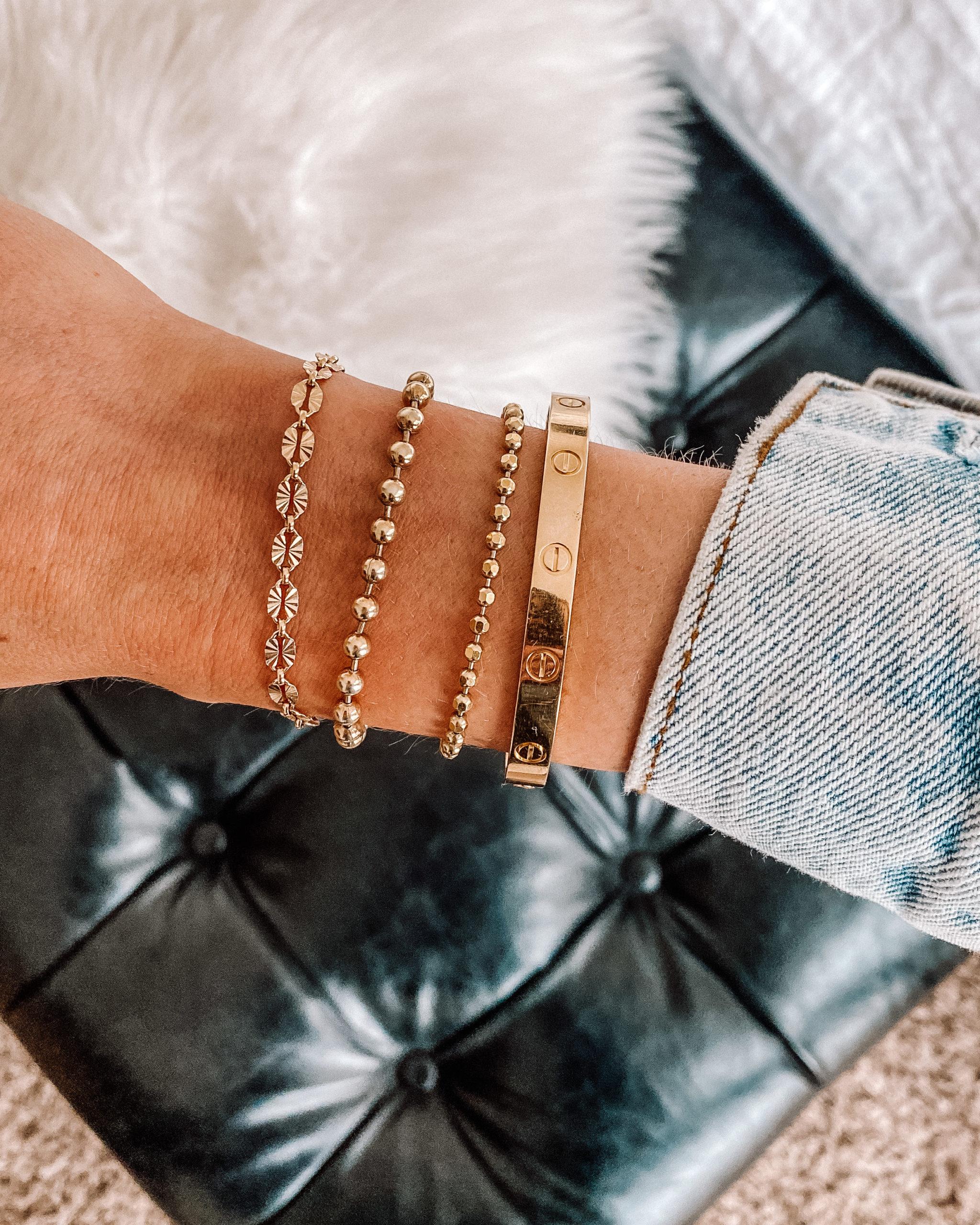 Fashion Jackson Miranda Frye Bracelets Cartier Love Bracelet