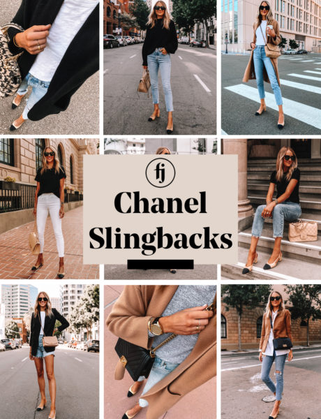 Chanel Slingbacks Outfit Round Up