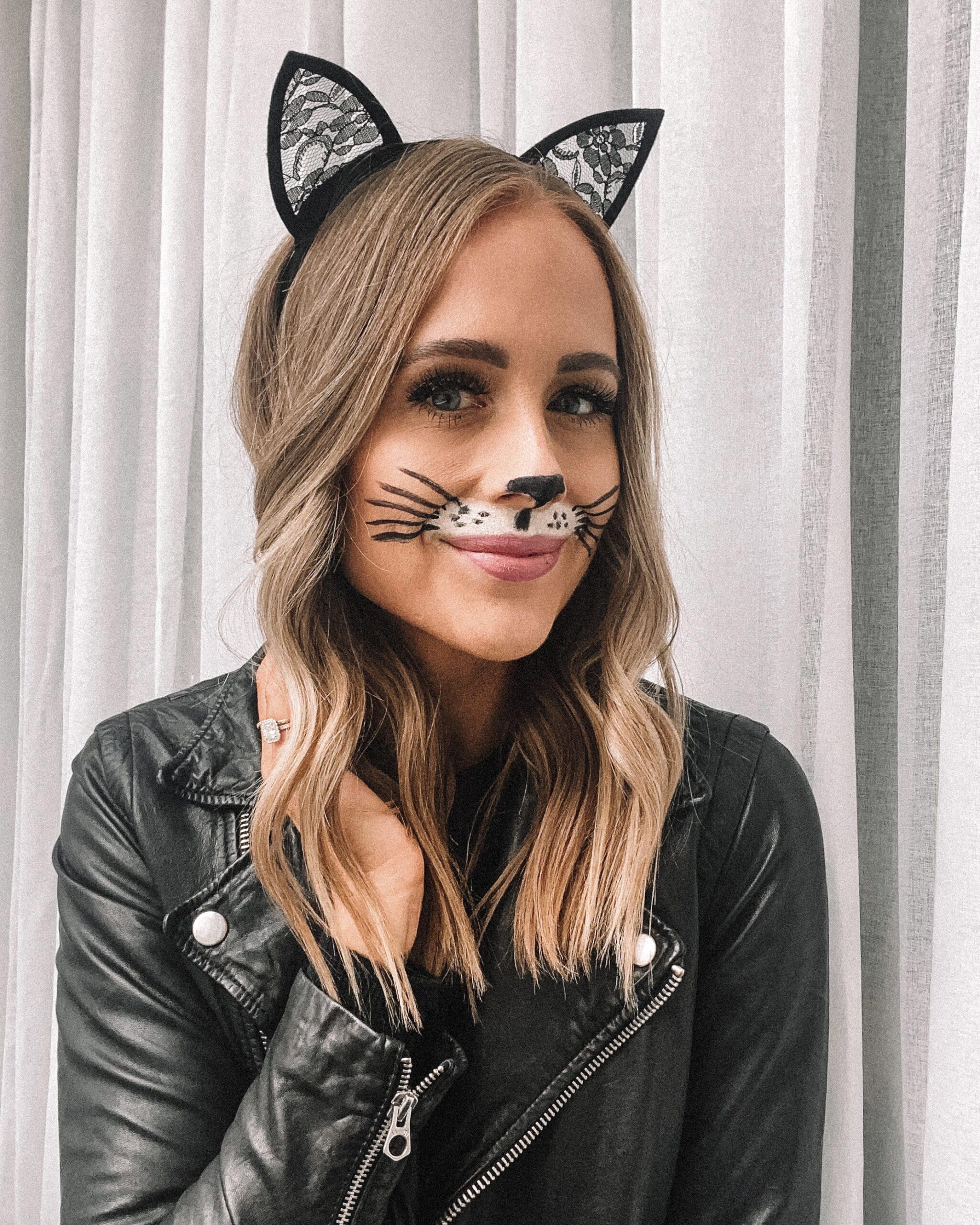 Fashion Jackson Halloween Cat Makeup Easy 2