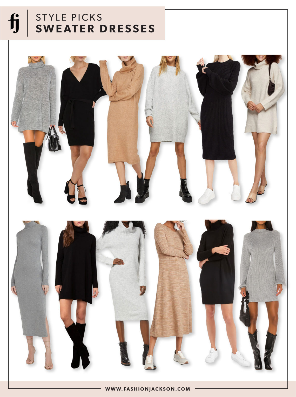 Fall Sweater Dresses