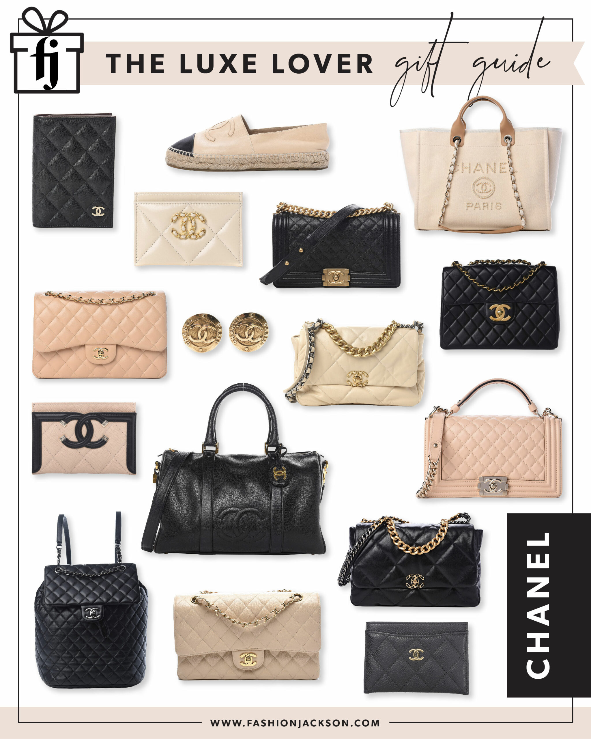 gift guide chanel bags