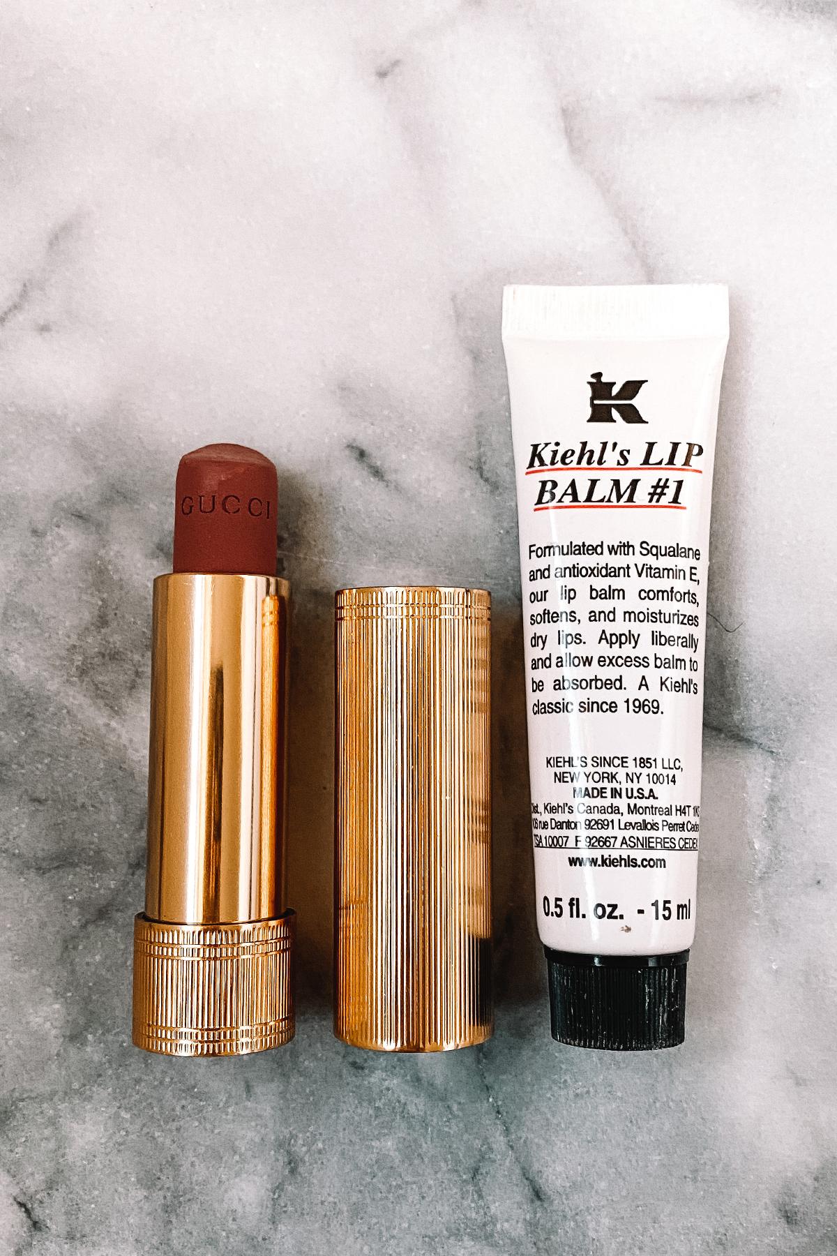 Fashion Jackson Sephora Gucci Lipstick Kiehls Lip Balm
