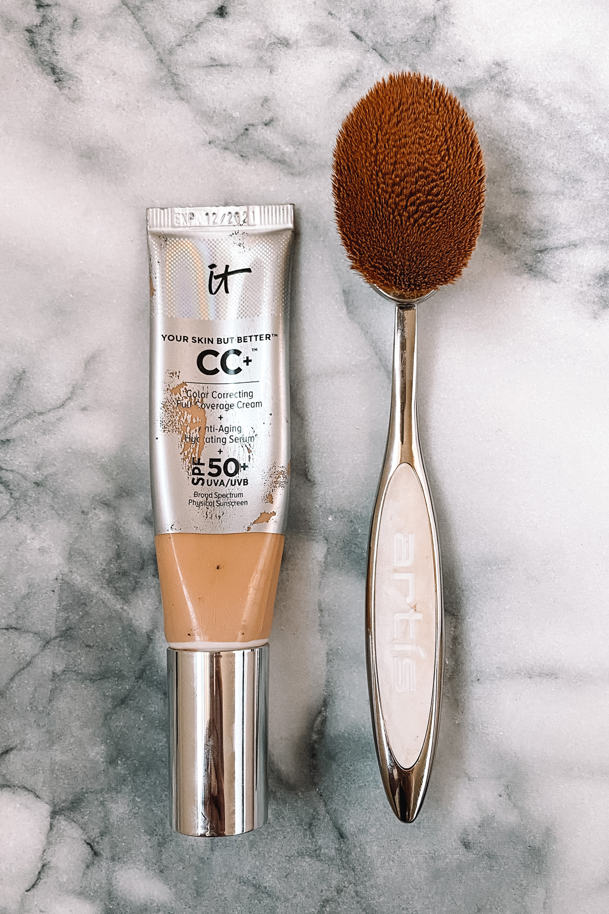 Fashion Jackson Sephora IT Cosmetics CC Cream Artis Brush