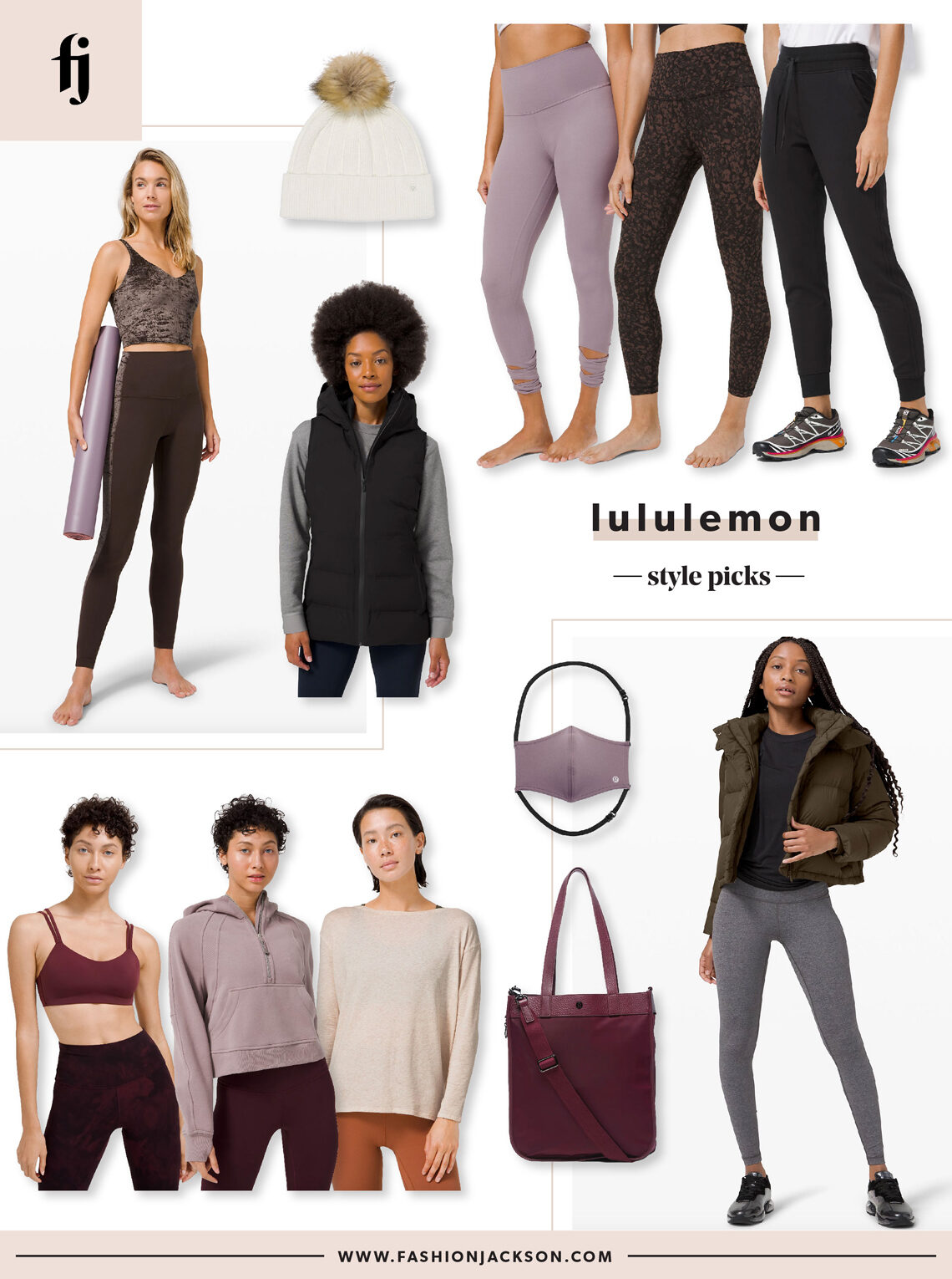 Fashion Jackson lululemon style picks 11.18.20
