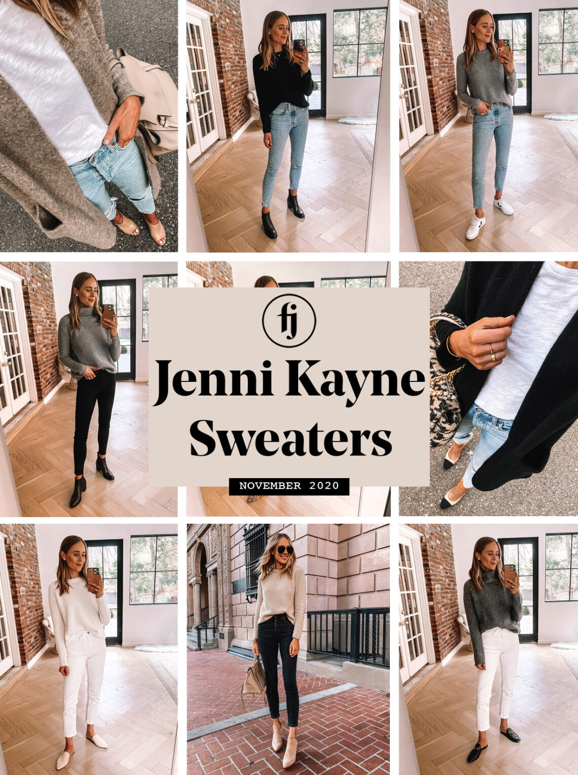 Jenni Kayne Sweater Haul