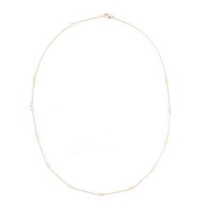 DR double bezel necklace