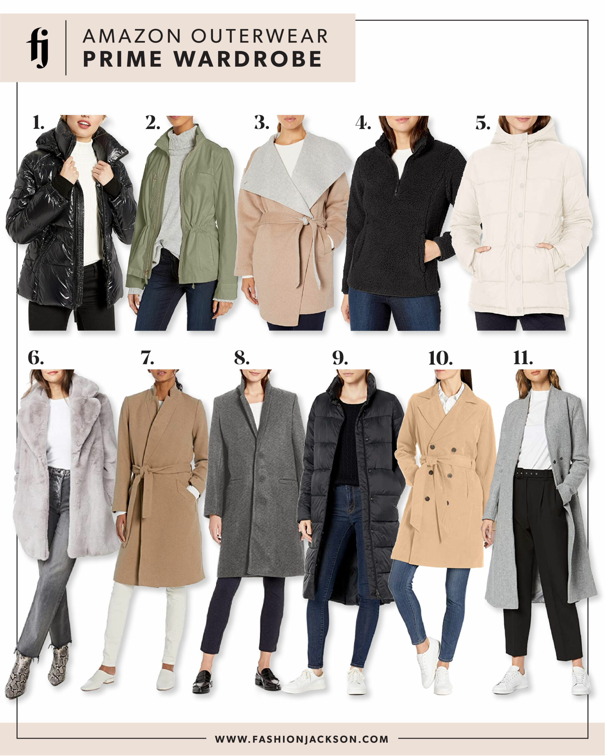 Amazon Prime Wardrobe Outerwear