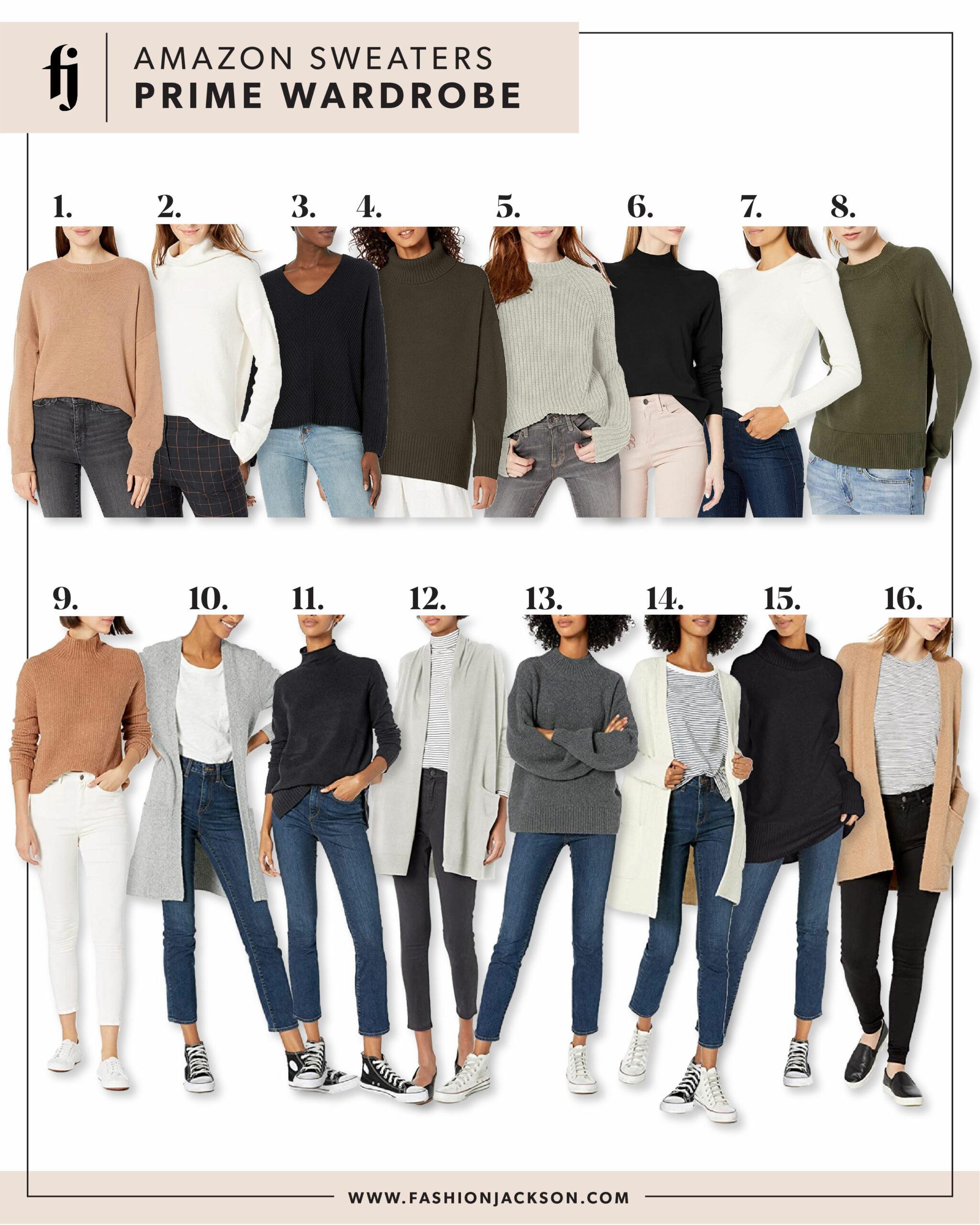 Amazon Prime Wardrobe Sweaters