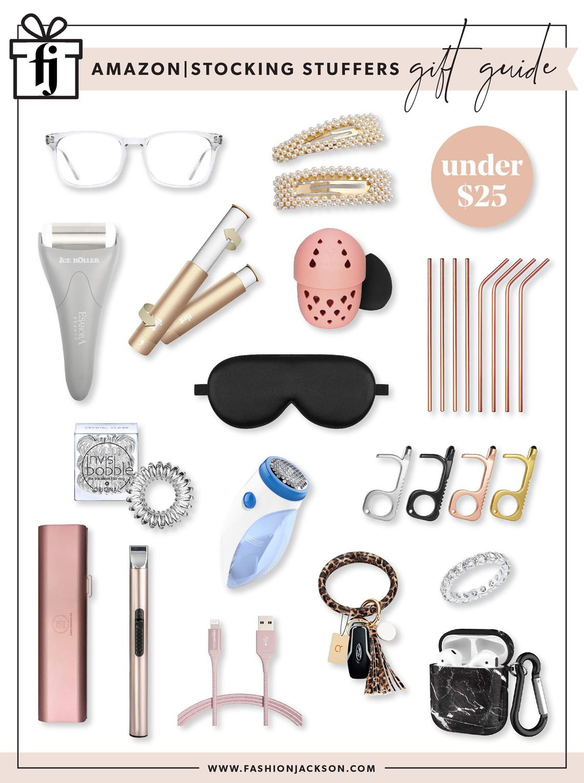 Fashion Jackson Holiday 2020 Amazon Stocking Stuffers Gift Guide