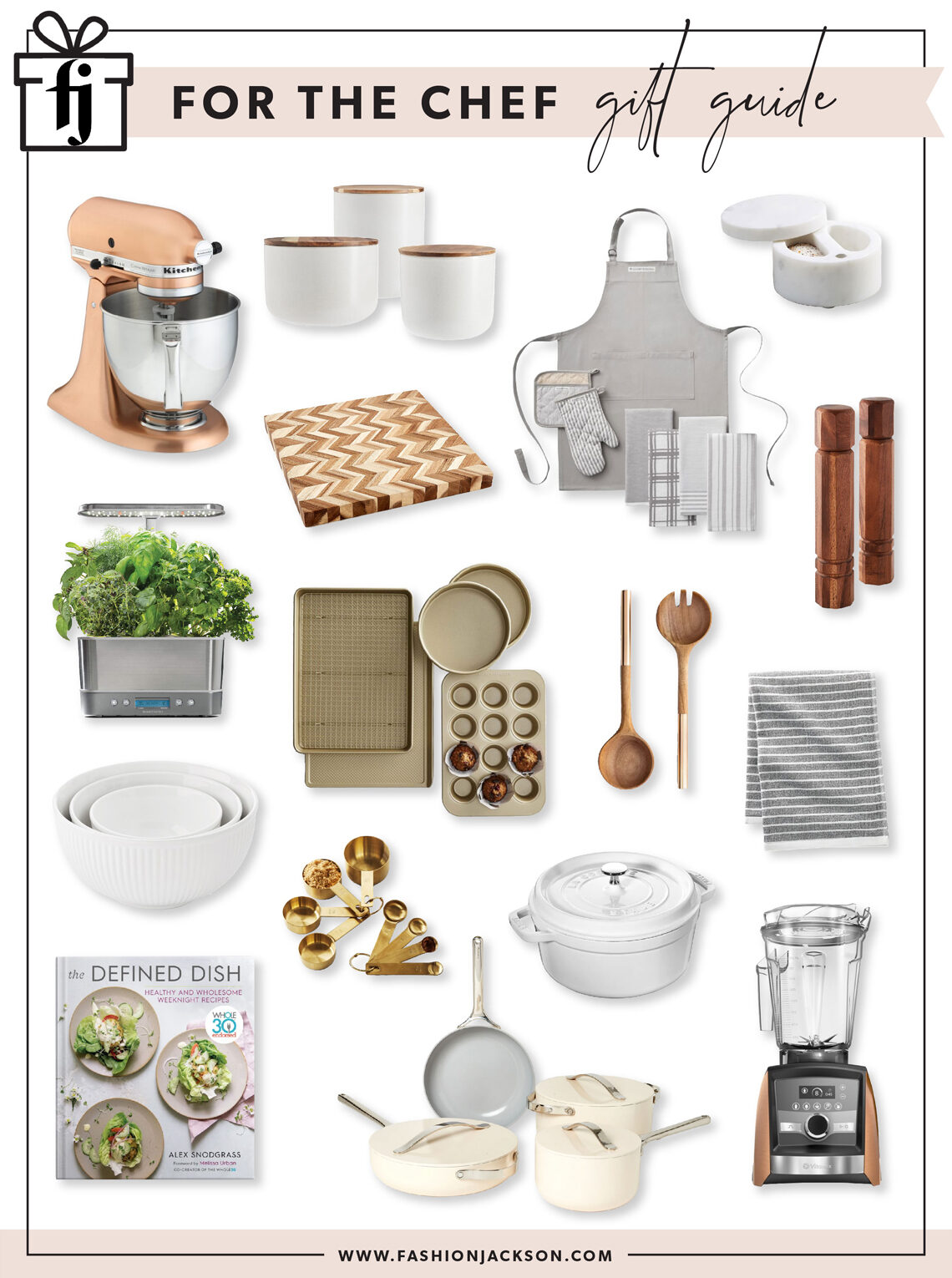 Fashion Jackson Holiday 2020 Chef Gift Guide