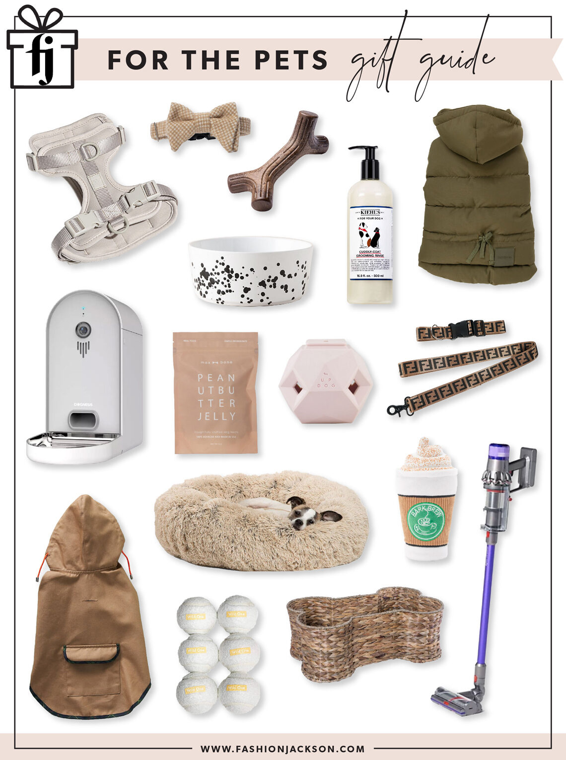 Fashion Jackson Holiday 2020 Pet Gift Guide