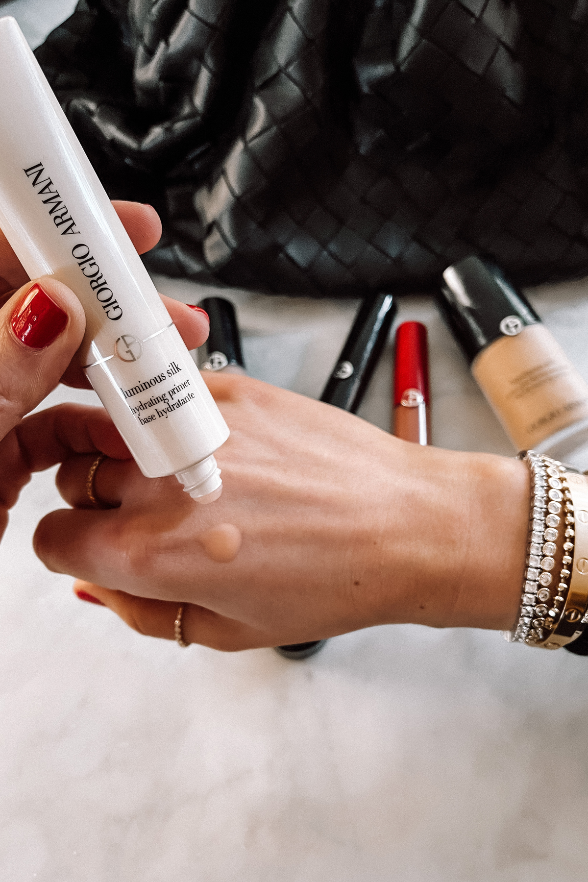 Fashion Jackson Sephora Beauty Armani Luminous Silk Hydrating Makeup Primer