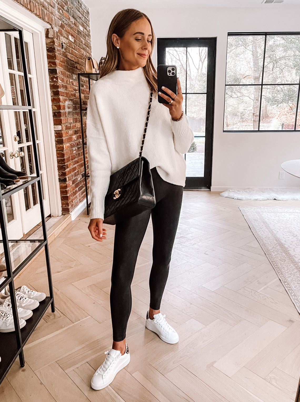 Fashion Jackson Wearing Amazon Fashion White Sweater