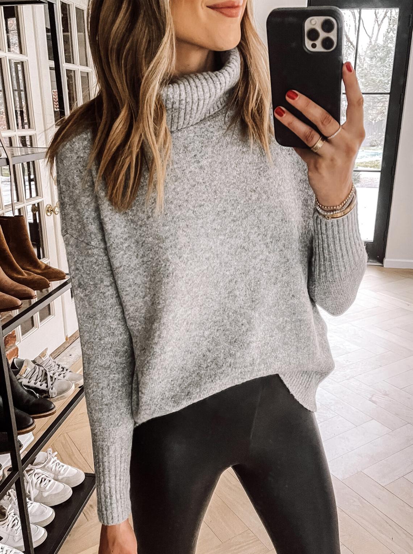 Fashion Jackson Wearing Amazon Prime Wardrobe Grey Sweater