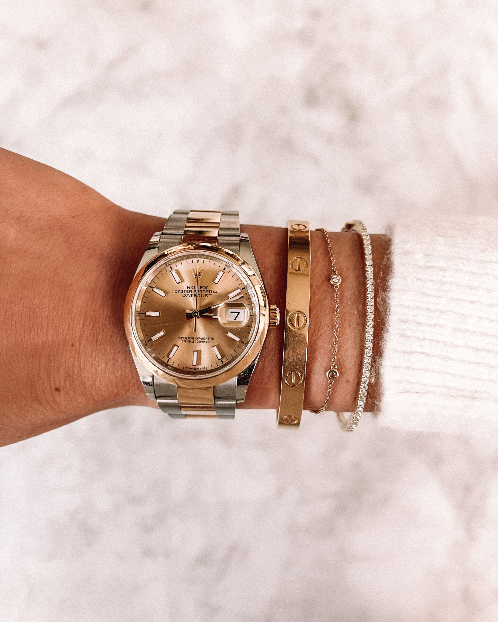 Fashion Jackson Rolex Watch Cartier Bracelet Ring Concierge Bracelets