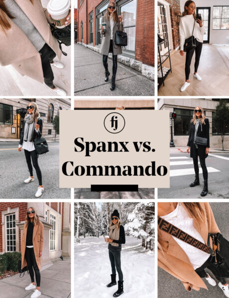 Spanx Vs Commando: Faux Leather Leggings Review & Comparison
