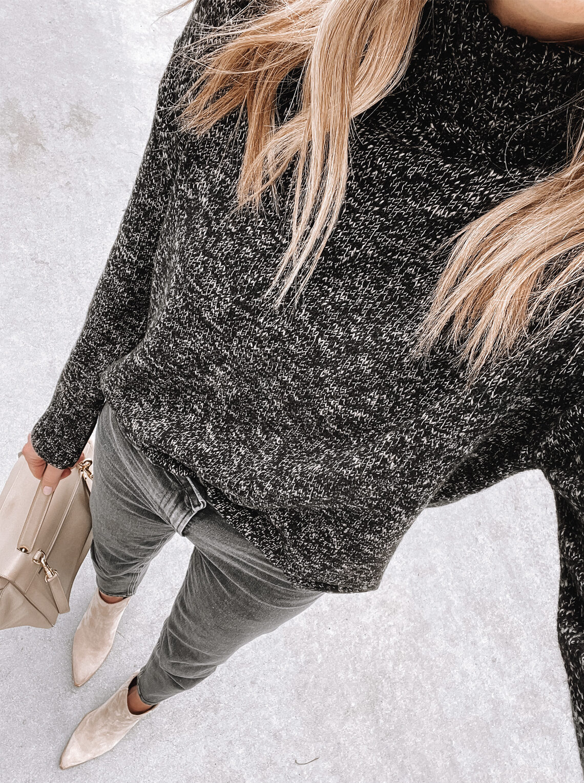 Jenni Kayne Recycled Cashmere Turtleneck Sweater