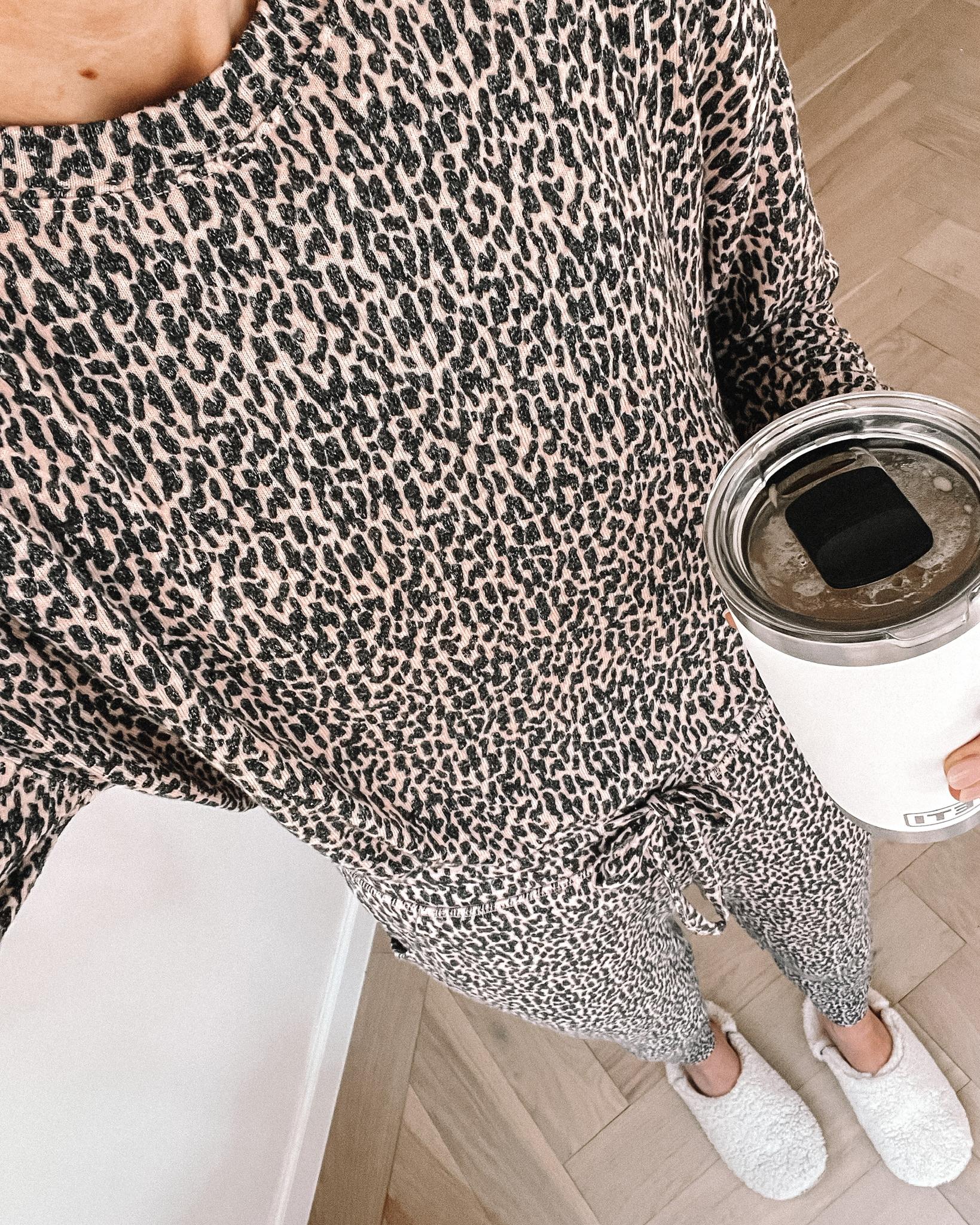 Fashion Jackson Wearing Nordstrom Pajamas