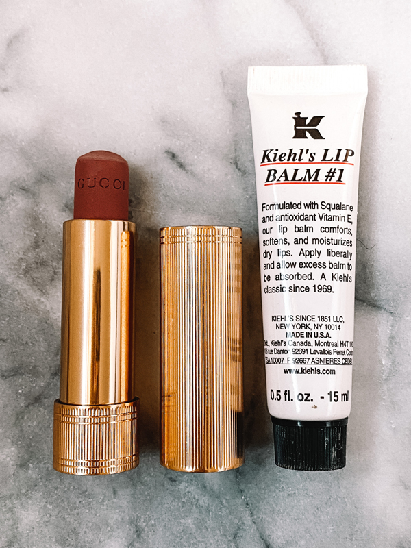 fashion jackson gucci lipstick kiehls lip balm