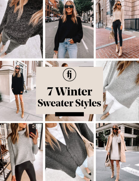 My 7 Favorite Winter Sweaters and How to Style Each of Them