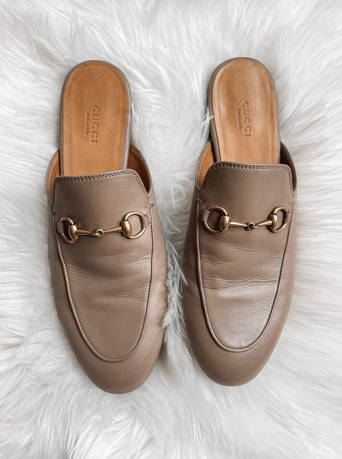 Fashion Jackson Gucci Princeton Mules Mud