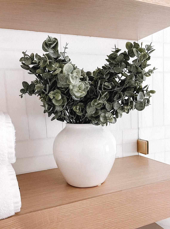Fashion Jackson Target Vase Faux Eucalyptus Plant