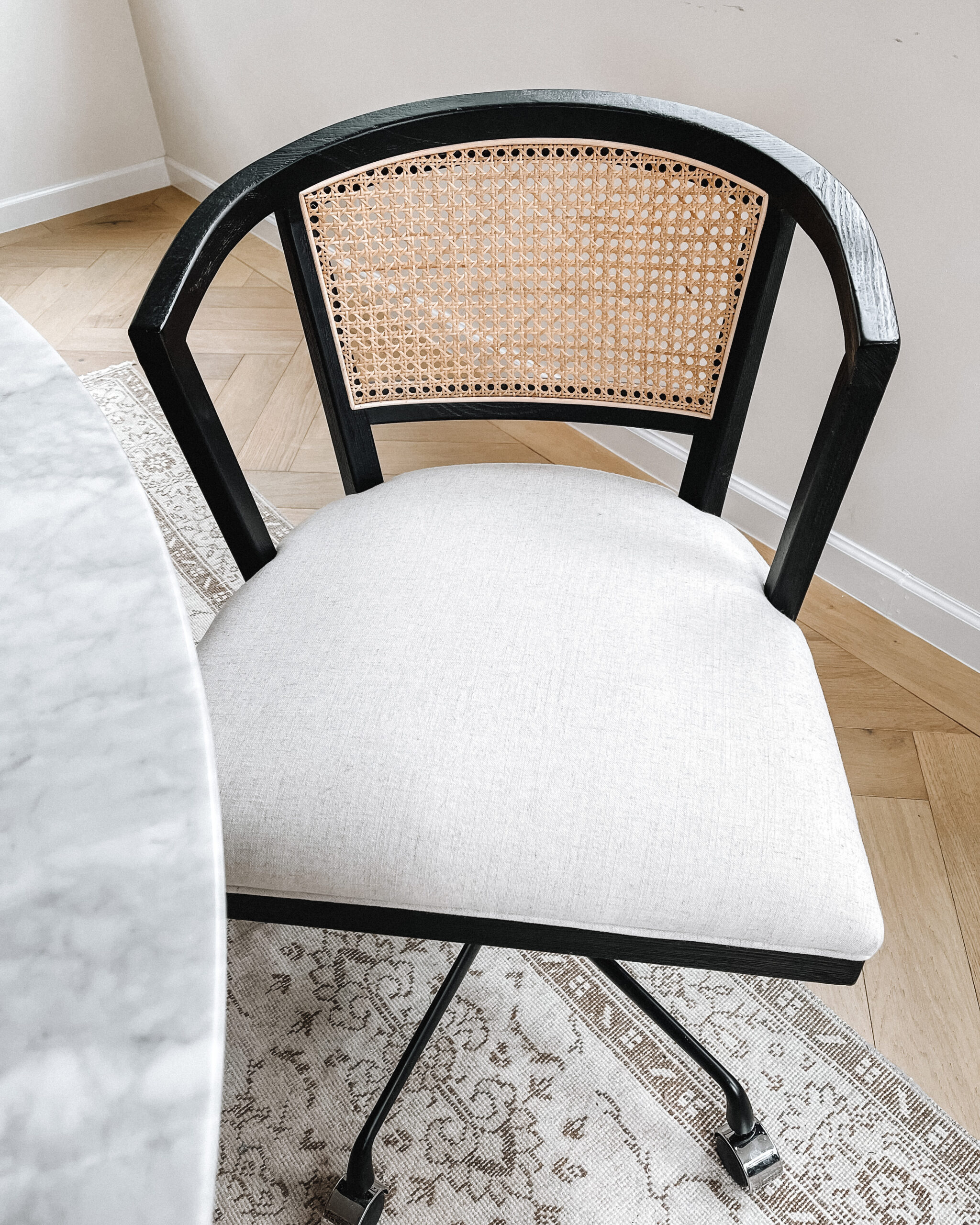 Fashion Jackson Lisbon Cane Desk Chair