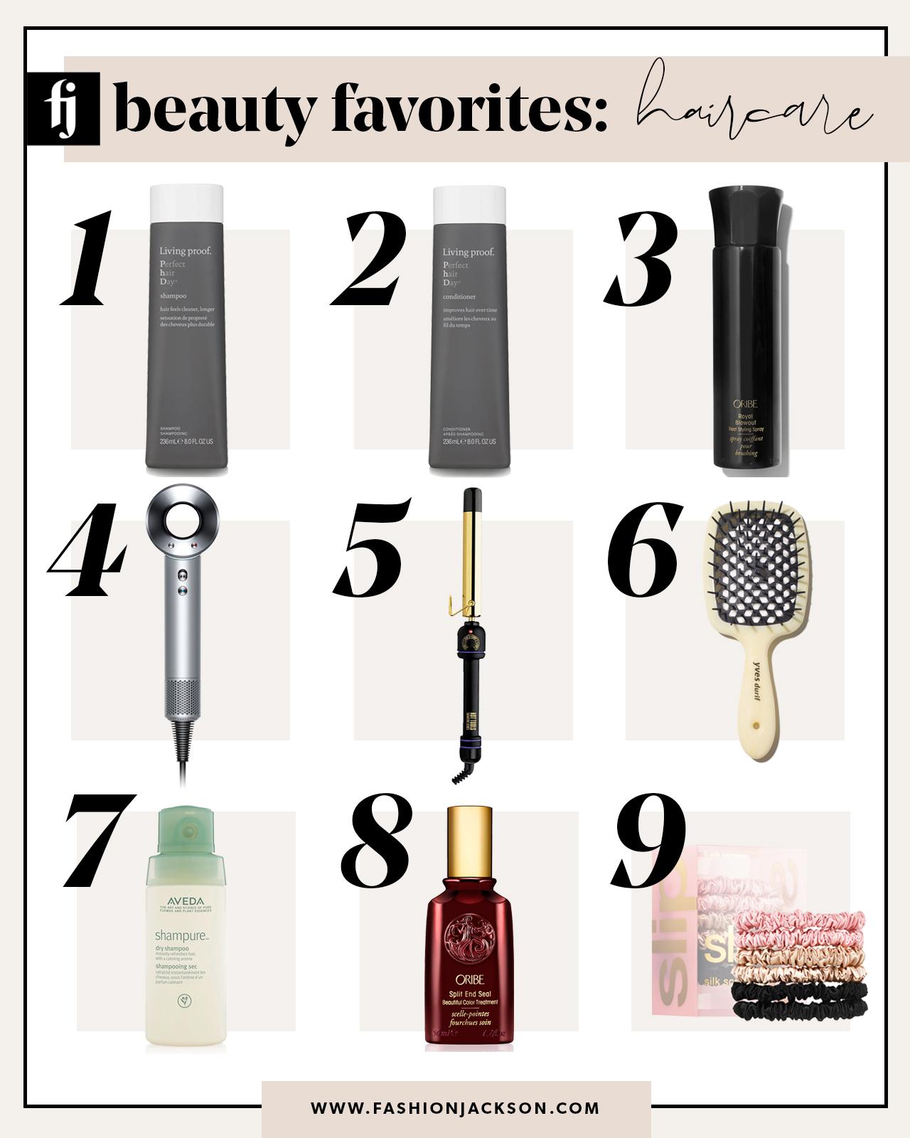 beauty favorites haircare