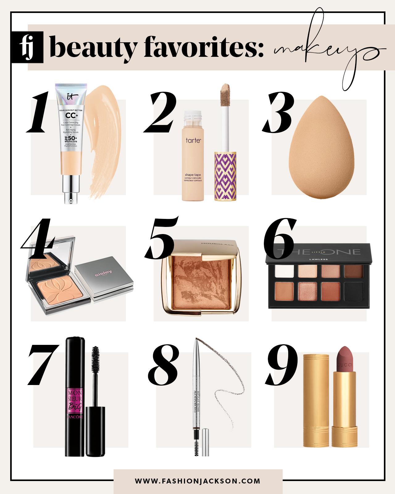 beauty favorites makeup