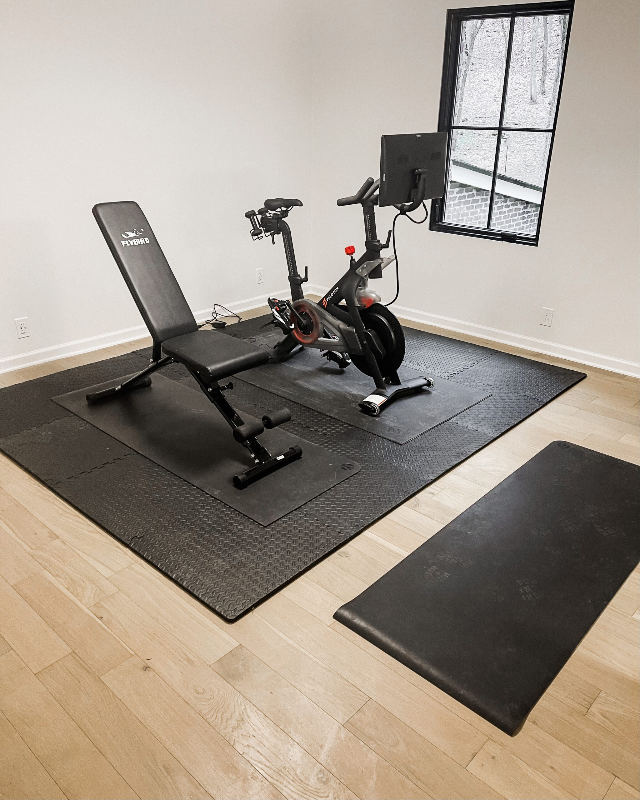 Fashion Jackson Amazon Fitness Puzzle Floor Mats Black