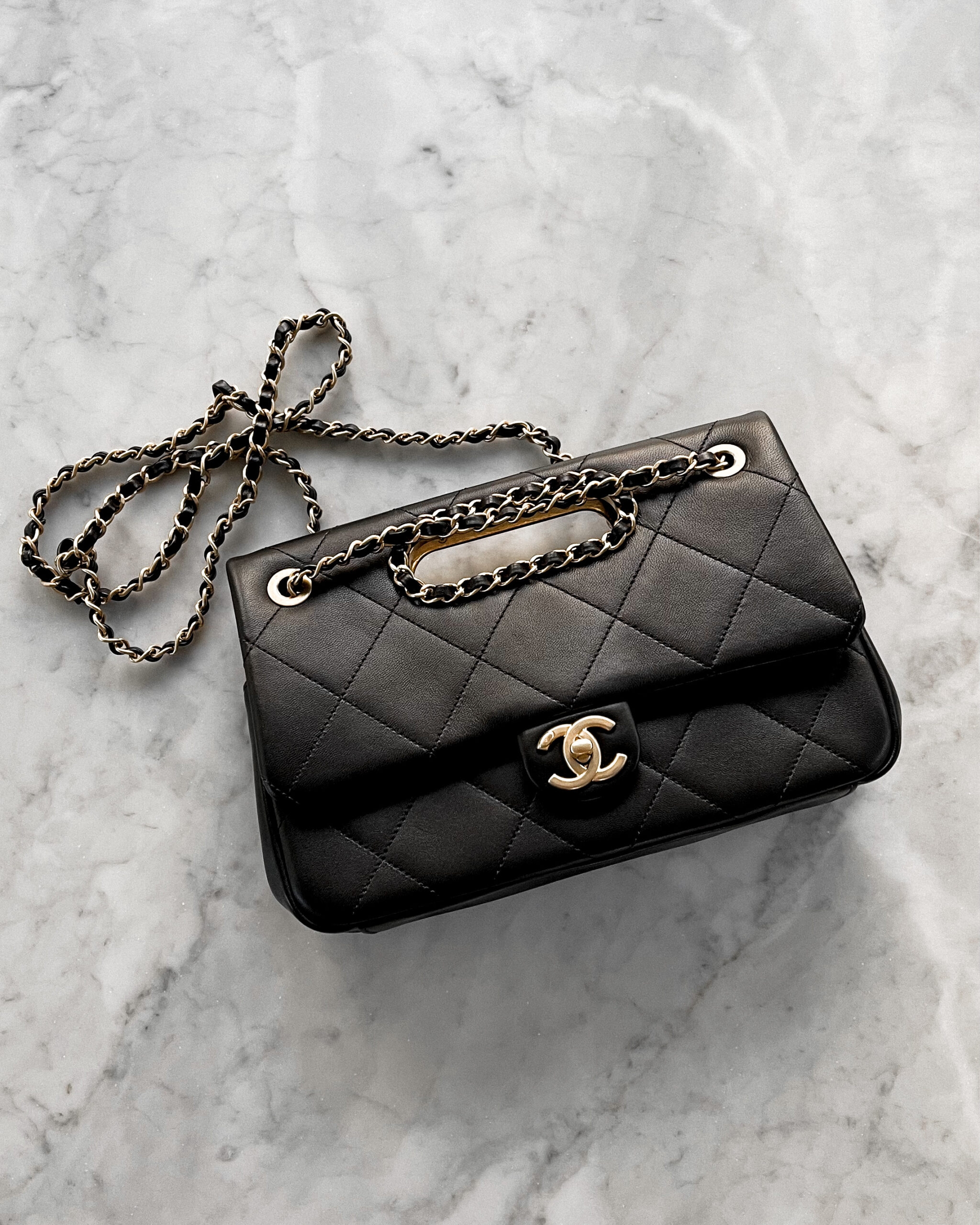 Fashion Jackson Black Chanel Handbag