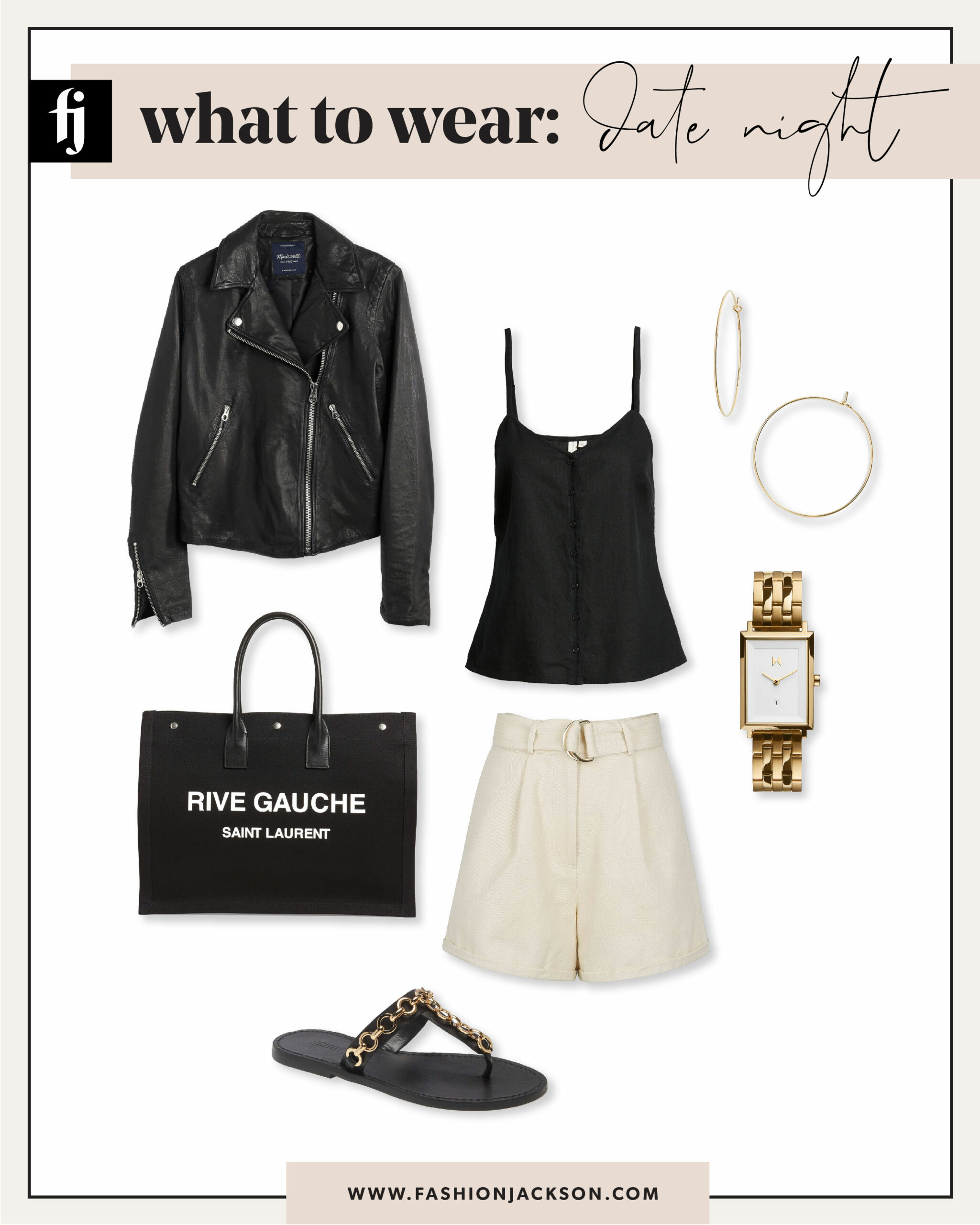 Spring Date Night Outfit
